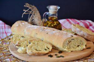 Receta casera de pan de pipas de calabaza sin gluten