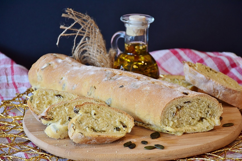 Pan de pepita de calabaza