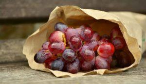 Receta sorbete de uva