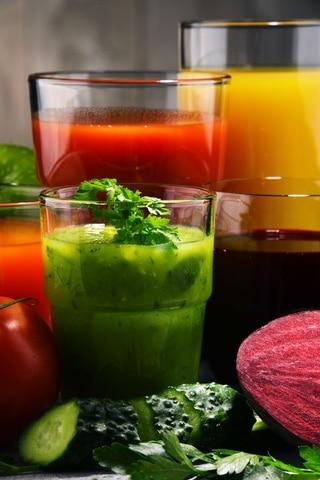 Ayuno de zumos y verduras