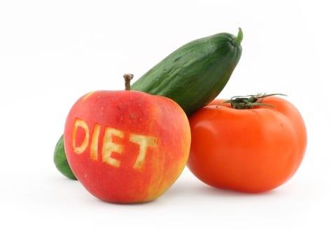 dieta keto: tomates y pepinos